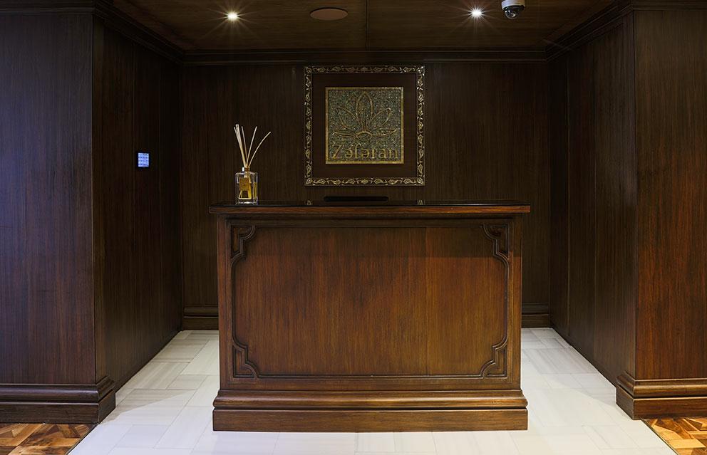 zeferan lobby - Rezervasyon